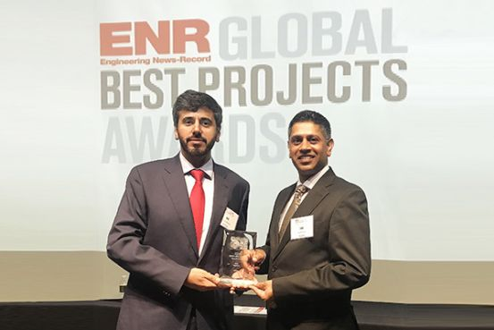 Sidra is recognized as the Global Best Healthcare Project